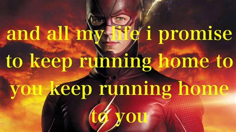 the flash running home to you lyrics