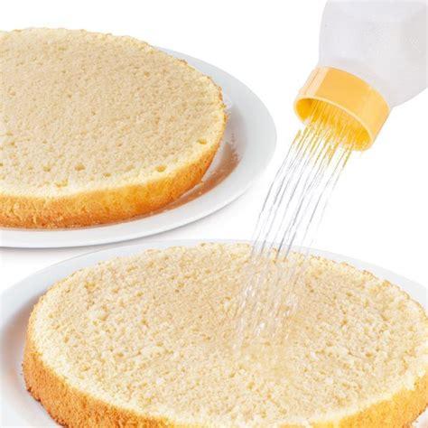 bagne per torte 630346 bottiglia per bagne linea delicia tescoma