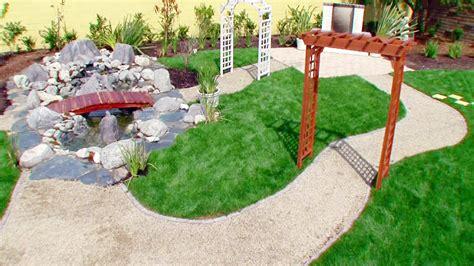 landscaping ideas designs pictures hgtv garden trends