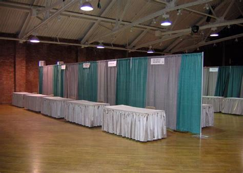 expo pipe and drape rent everything for your next trade show expo booth rental