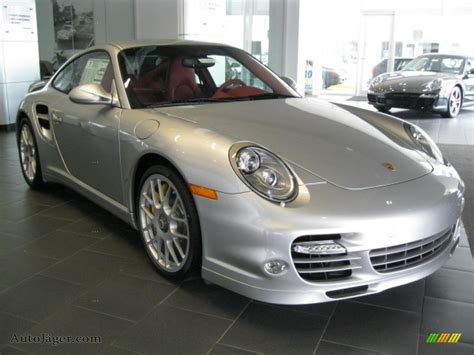 2011 porsche 911 turbo s coupe in silver metallic paint to sle 766835 auto j 228 ger german