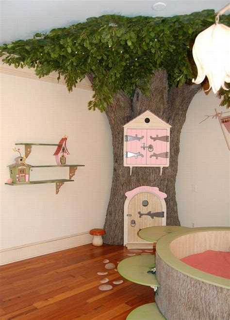 fake tree for bedroom fairy bedroom amazing room design for kids freshome com