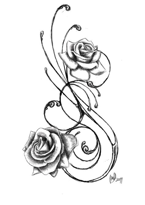 amazing rose tattoo designs images designs