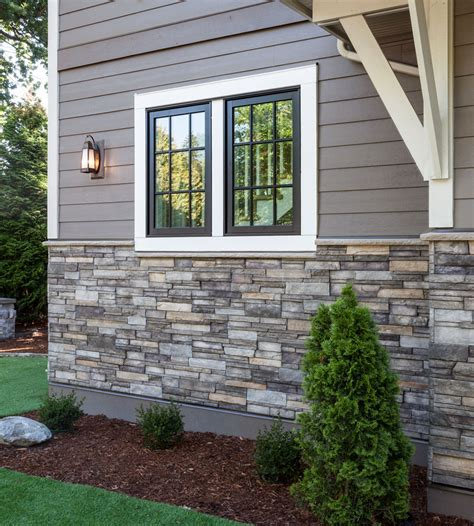 stone and siding house home exterior entrance sterling ledgestone versetta