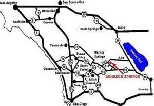 borrego springs california map map and directions to borrego springs california
