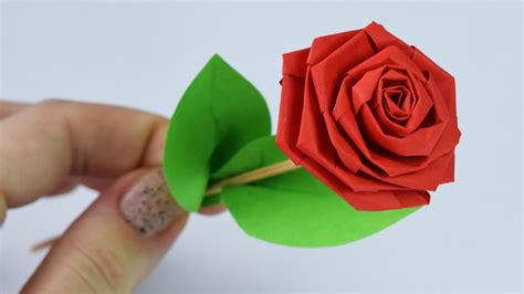 How To Make Paper Roses With Construction Paper - how to make paper diy