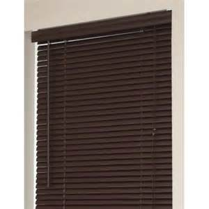 walmart mini blinds sizes window blinds mini blinds 1 quot slats chocolate venetian