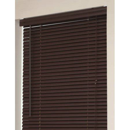 Morning Star Mini Blinds Window Blinds Mini Blinds 1 Quot Slats Chocolate Venetian