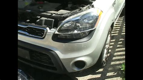 kia soul front bumper 2012 kia soul front bumper removal