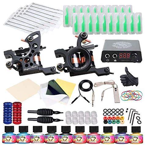 dragonhawk tattoo kit dragonhawk complete kit 2 machine gun 10 color inks