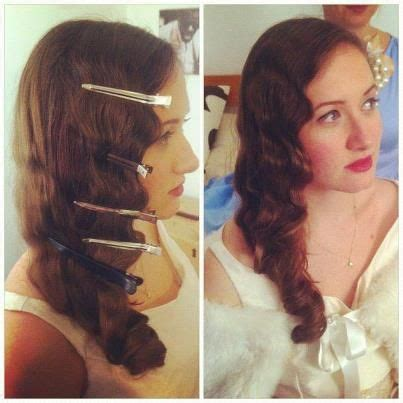 how to do 1920 hairstyle finger waves christmas party hair 1920 style marcel and prom hair