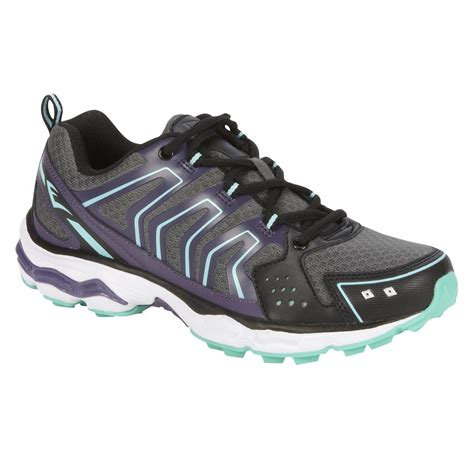 kmart athletic shoes s athletic shoe black purple stylish