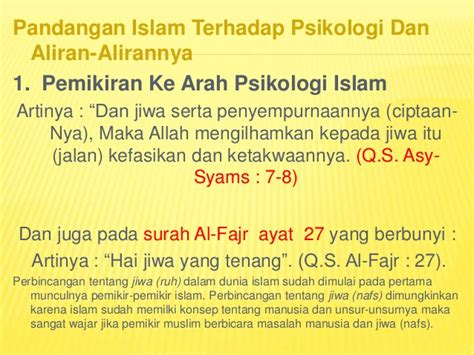 Orientasi Ke Arah Pemahaman Filsafat Ilmu By Mukhtar Latif psikologi dalam islam