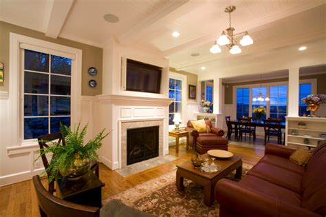 family room tv family room flat screen tv traditional living room portland by designer s edge kitchen
