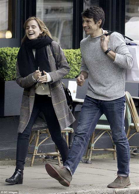 emma watson and boyfriend emma watson steps out in london with boyfriend william