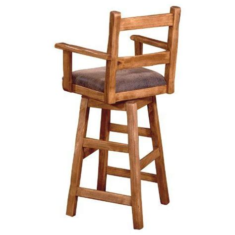 wooden bar stools  arms woodworking projects plans