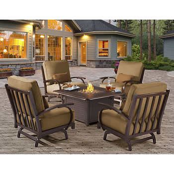 patio table pit costco patio pit table costco target patio decor