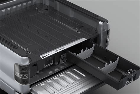 decked truck bed organizer decked truck bed storage system products vehicle research work truck