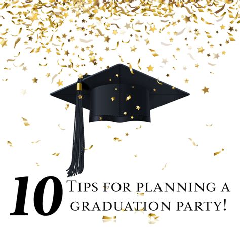 10 tips for planning a graduation linentablecloth
