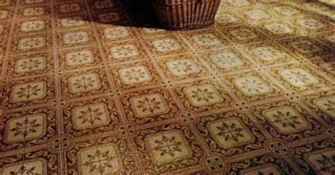 A variety of vinyl kitchen floors from the 1970s   Kitchen