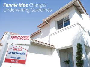 fannie mae makes underwriting changes homes