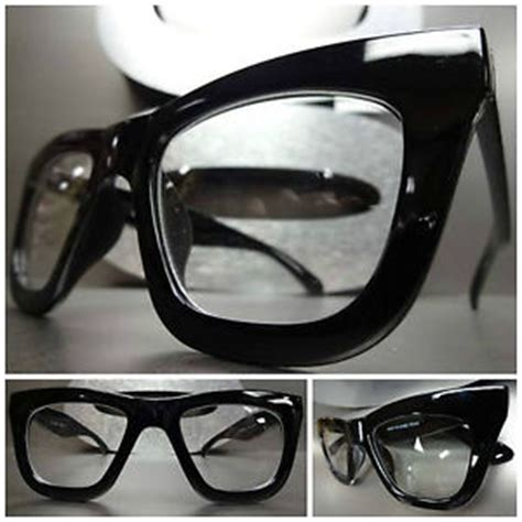 s or classic vintage clear lens eye glasses