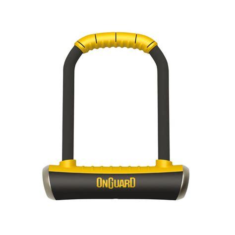 Steel U Bolt Lock Gembok Yellow u padlock brute 115 x 202mm onguard locks and chains u