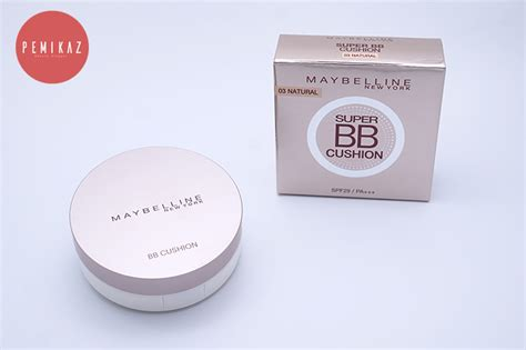 Maybelline Bb Cushion Di Counter เปม การ ว ว maybelline bb cushion spf29 pa ปกป ด