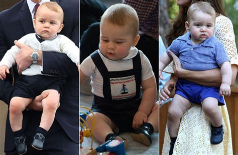 Prince George Wardrobe by