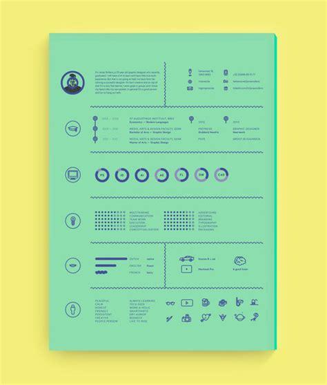 Best Design Resumes by 40 Creative Cv Resume Designs Inspiration 2014 Web