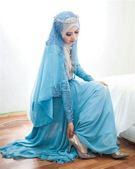 Dress Muslim Abaya Hikmat Fashion A192 Turquise blue wedding theme photo by ikhwananuar blue wedding themes themes