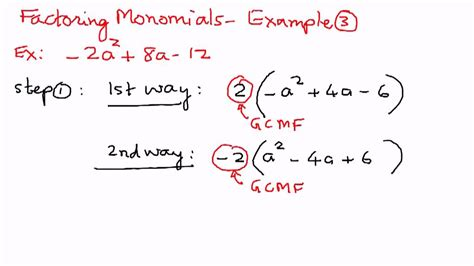 factoring exle problems images