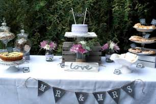 lavender lace rustic bridal luncheon