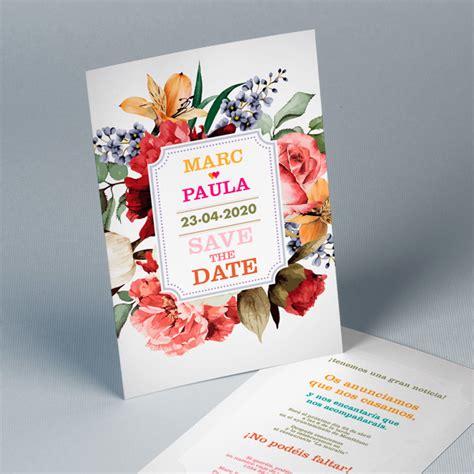 invitaciones originales para anunciar tu boda nosotras invitaciones easycards personalizadas