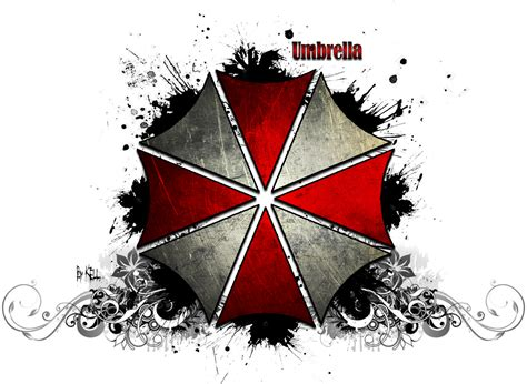 Tronic White Transparent Umbrella 33 anime picture resident evil highres signed wallpaper transparent background no 1741x1272