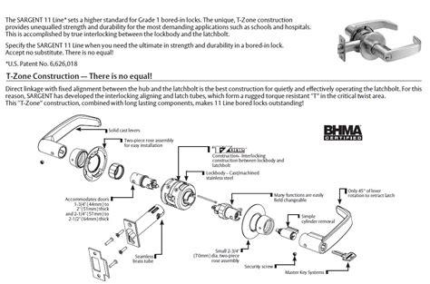 schlage parts diagram schlage mortise lock parts diagram yale mortise lock