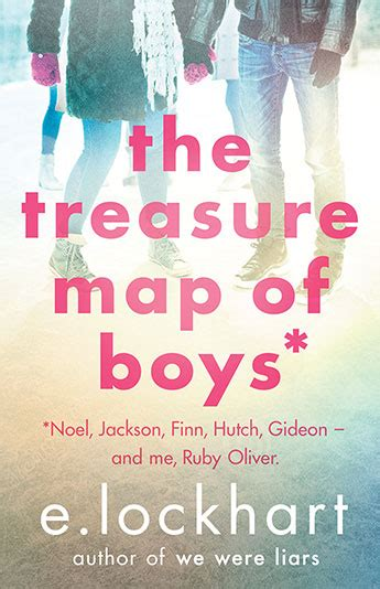 Book Review The Boy Book By E Lockhart by The Treasure Map Of Boys A Ruby Oliver Novel 3 E
