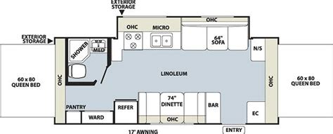 Rockwood Roo Floor Plans by 2010 Forest River Rockwood Roo 23ss Roo Travel Trailer New