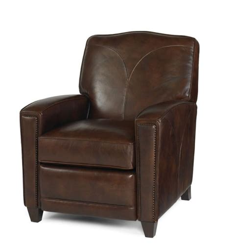 compact leather recliner how to decorate your home using small leather recliners