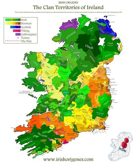 population map of ireland hbd