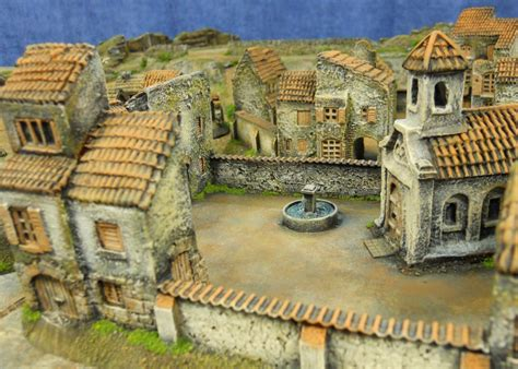 Spanish Style Home Designs the peninsular war in 15mm sabol designs spanish village