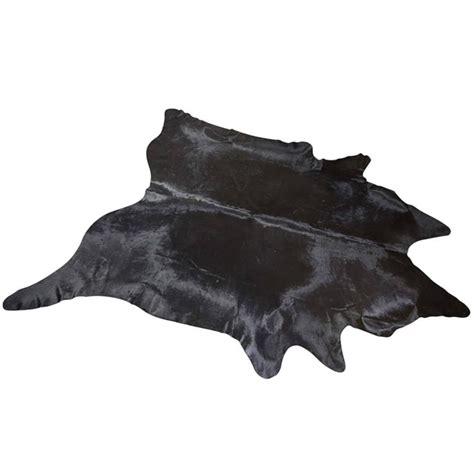 large cowhide rugs large black cowhide rug for sale at 1stdibs