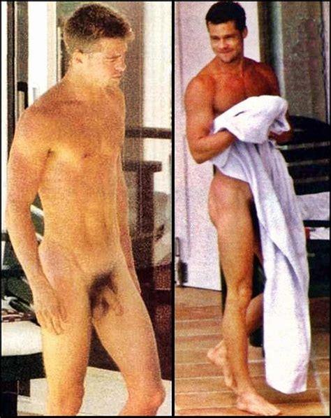 Brad Pitt Nude Dick Sexy Pics GIFs Scandal Planet