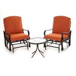 Gliding Patio Furniture by Patio Patio Glider Chair Home Interior Design