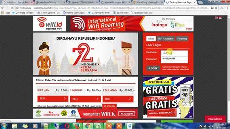 Wifi Id cara login wifi id menggunakan voucher telkom