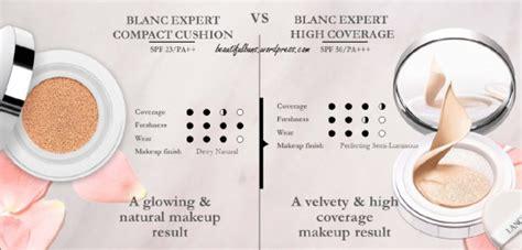 Lancome Blanc Expert Cushion review lancome blanc expert cushion compact high coverage
