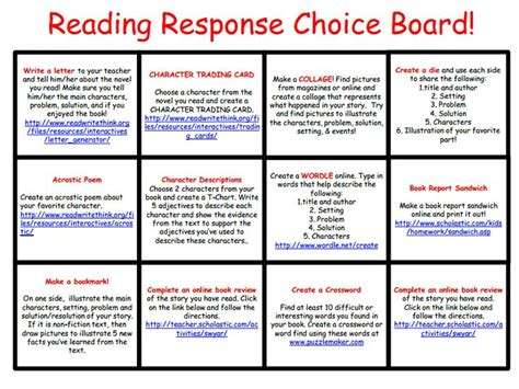 themes for reading response 371 best images about reading response ideas on pinterest