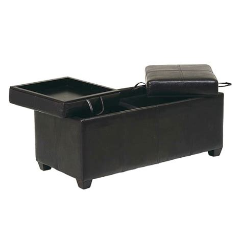 storage ottoman bench with tray cheap ottomans and footstools rating review metro