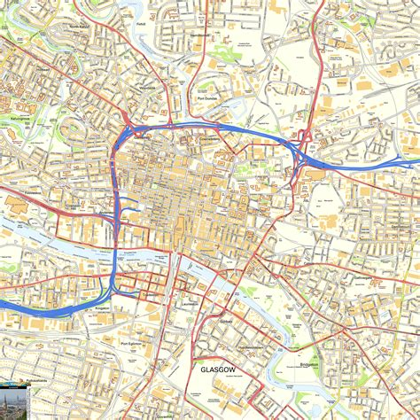 printable map glasgow city centre maps update 1200792 tourist map glasgow 10 toprated