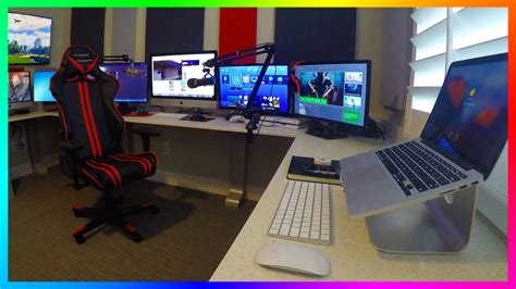 home office gaming setup mrbossftw new gaming streaming office setup ultimate of with images pinkax com